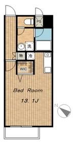 ベルヴェデーレ3階Fの間取り画像