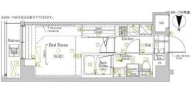 ラフィスタ川崎大師6階Fの間取り画像