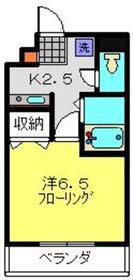 アスタリスク日吉3階Fの間取り画像