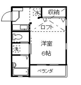 綱島駅 徒歩11分1階Fの間取り画像