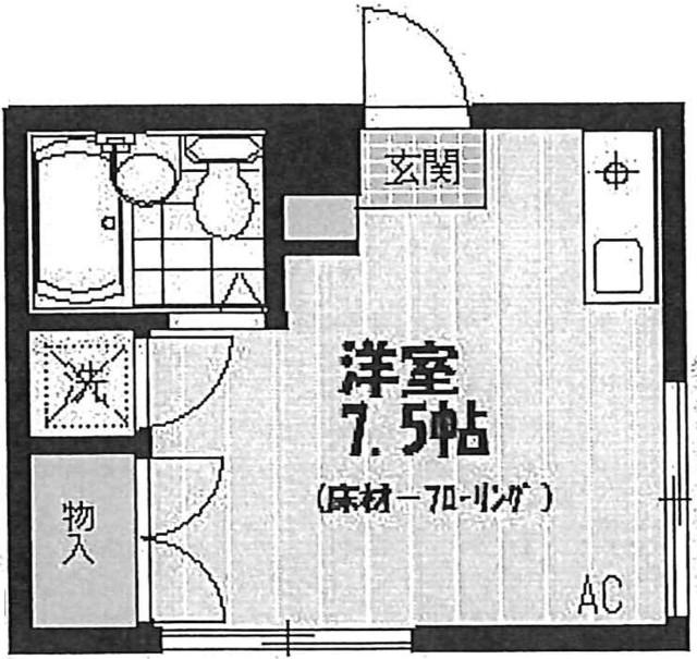 初台駅 徒歩8分間取図