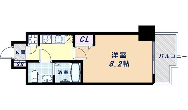 5階の間取り図