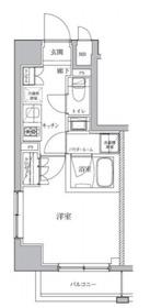 ル・サレーヴ2階Fの間取り画像