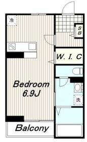 サビーフクホー2階Fの間取り画像