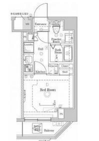 ラフィスタ川崎Ⅴ5階Fの間取り画像