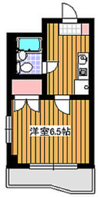 プラットサキ4階Fの間取り画像