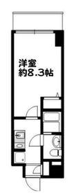 COMODO川崎6階Fの間取り画像