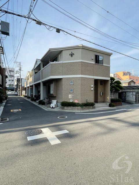 東大阪市長堂2丁目の賃貸アパートの外観