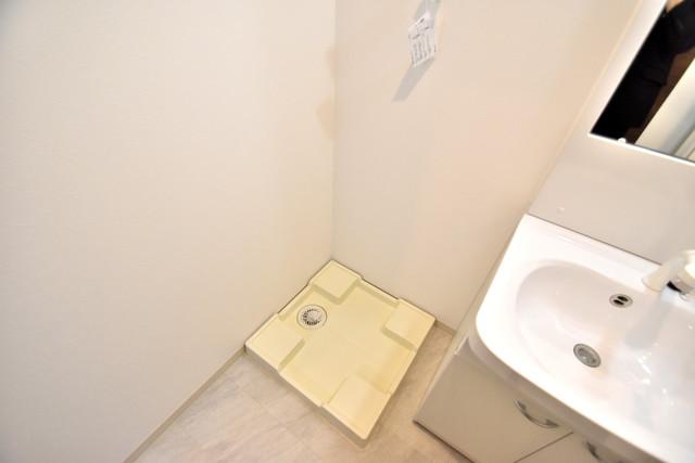 DOAHN 巽西 室内に洗濯機置き場があれば雨の日でも安心ですね。