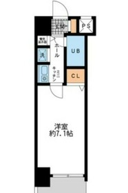 ダイヤモンドタワー鶴見5階Fの間取り画像