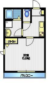 アネシス K3階Fの間取り画像
