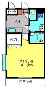 溝の口駅 バス5分「橘主張所」徒歩3分1階Fの間取り画像
