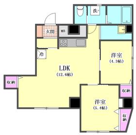 ライオンズマンション雪が谷大塚 205号室