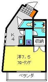 ヴィレッジラブノット VoL11階Fの間取り画像