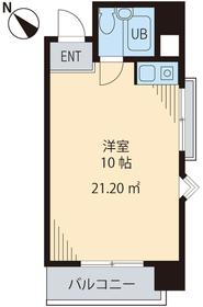 M・Iビル2階Fの間取り画像