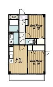 ディペンドマーク4階Fの間取り画像