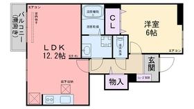 パークサイドⅢ1階Fの間取り画像