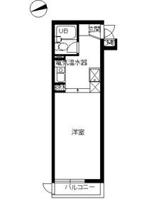 スカイコート横浜富岡4階Fの間取り画像