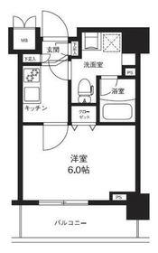 メインステージ横濱ポートサイド9階Fの間取り画像