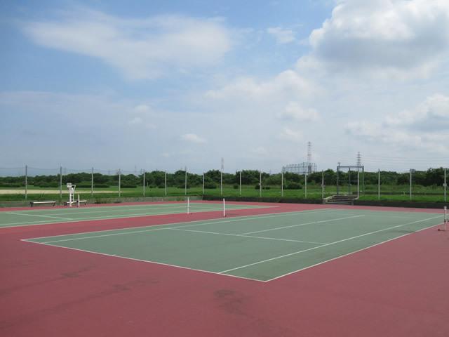 淀川河川公園豊里地区テニスコート