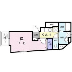 フランメゾン1階Fの間取り画像
