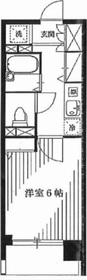 ダイナフォート日本橋8階Fの間取り画像