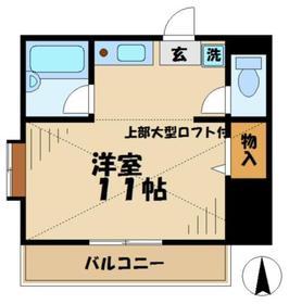 グリーンハイツ黒川第22階Fの間取り画像