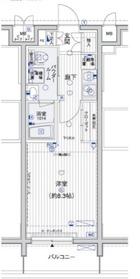 メインステージ横浜10階Fの間取り画像