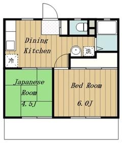 本厚木駅 バス20分「中荻原」徒歩3分1階Fの間取り画像