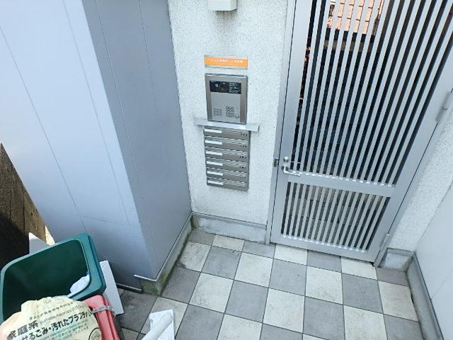 ソリッド聖蹟桜ヶ丘壱番館エントランス