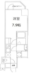 S-RESIDENCE文京小石川1階Fの間取り画像