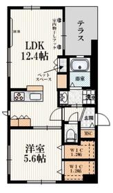 (仮称)お花茶屋1丁目メゾン1階Fの間取り画像