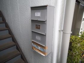 集合郵便受けもあります!