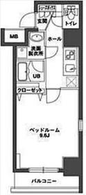 KDX岩本町レジデンス2階Fの間取り画像