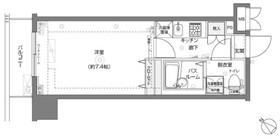 フェニックス横濱関内BAY MARKS8階Fの間取り画像