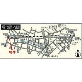 荻窪駅 徒歩11分案内図