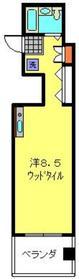 トレアルベロ横浜2階Fの間取り画像