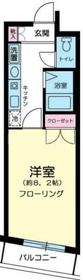 神田駅 徒歩8分7階Fの間取り画像