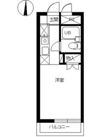 スカイコート東武練馬4階Fの間取り画像