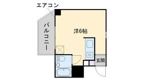 フォーラム姪浜エミネンス9階Fの間取り画像