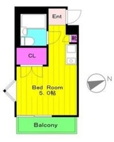 テラスT&H1階Fの間取り画像