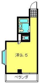 ヨコハマベイストロベリーインターナショナル3階Fの間取り画像