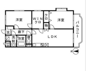 高座渋谷駅 徒歩31分2階Fの間取り画像