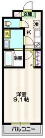 仮称 埼玉蕨プロジェクト2階Fの間取り画像