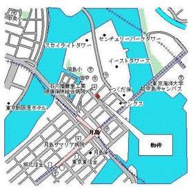 パークアクシス月島案内図
