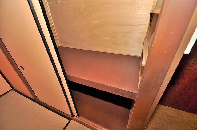 コンラッド長瀬 もちろん収納スペースも確保。お部屋がスッキリ片付きますね。