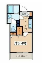 メゾン・ド・ベル3階Fの間取り画像