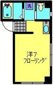 元住吉駅 徒歩2分3階Fの間取り画像