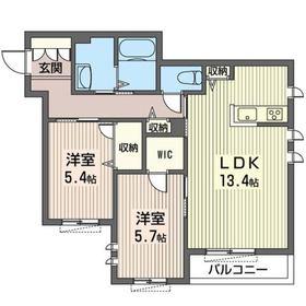 クリアグレイス 203号室