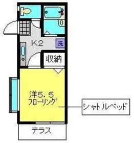 グラン・カーサ1階Fの間取り画像
